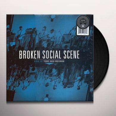 BROKEN SOCIAL SCENE LIVE AT THIRD MAN RECORDS Vinyl Record