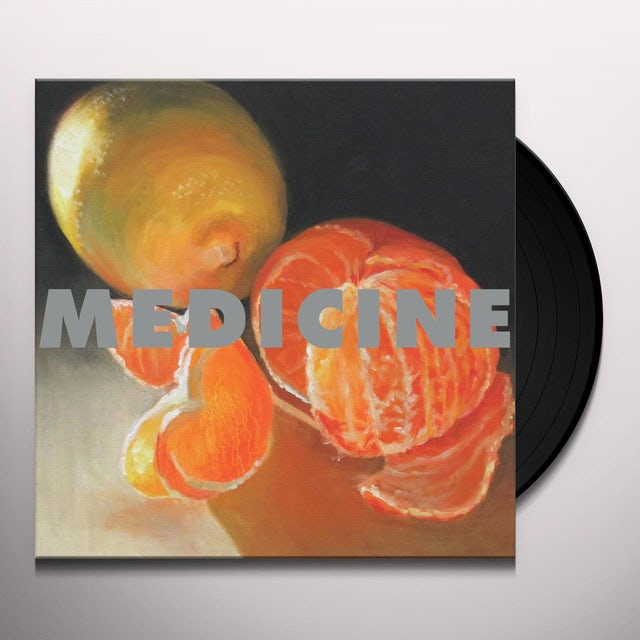 Medicine TO THE HAPPY FEW Vinyl Record