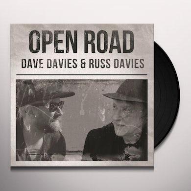 Dave Davies / Russ Davies OPEN ROAD Vinyl Record