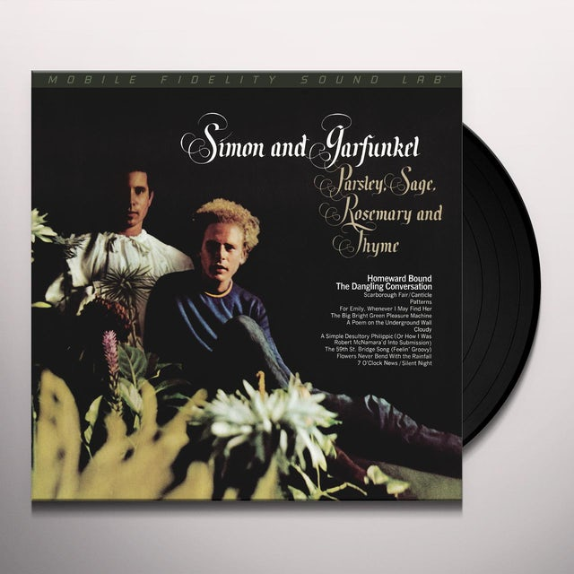 Simon & Garfunkel PARSLEY SAGE ROSEMARY & THYME Vinyl Record