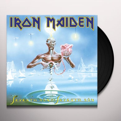 Iron Maiden SEVENTH SON OF A SEVENTH SON Vinyl Record