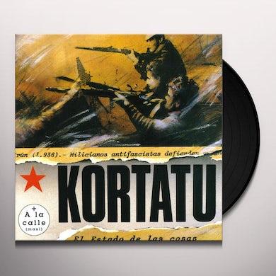 Kortatu EL ESTADO DE LAS COSAS Vinyl Record