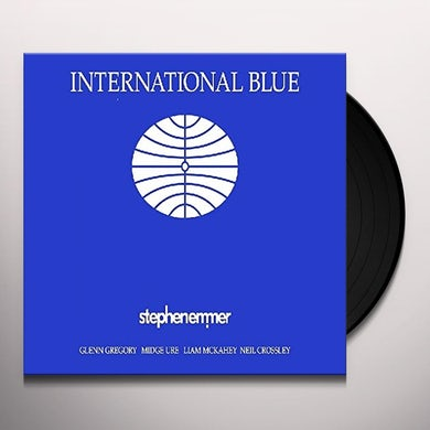 Stephen Emmer INTERNATIONAL BLUE Vinyl Record