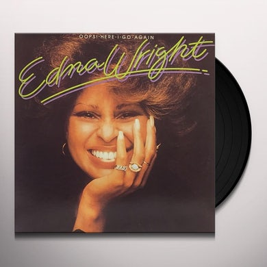 Edna Wright OOPS! HERE I GO AGAIN Vinyl Record