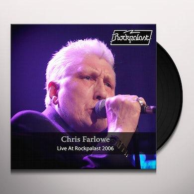 Chris Farlowe  LIVE AT ROCKPALAST 2006 Vinyl Record