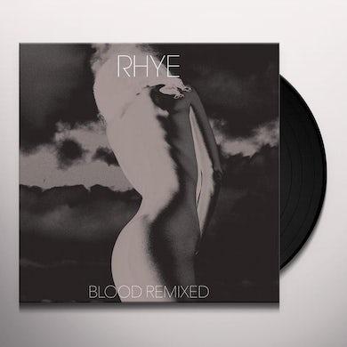 Rhye BLOOD REMIXED Vinyl Record