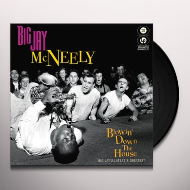 BLOWIN' DOWN THE HOUSE-BIG JAY'S LATEST & GREATEST Vinyl Record