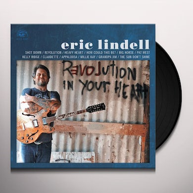 Eric Lindell REVOLUTION IN YOUR HEART Vinyl Record