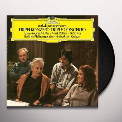 Yo-Yo Ma / Mutter / Von Karajan / Berliner Phil BEETHOVEN: TRIPLE CONCERTO Vinyl Record