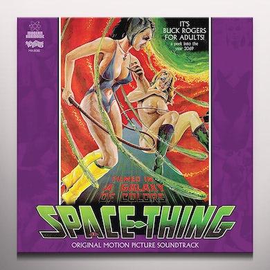 SPACE THING / Original Soundtrack Vinyl Record