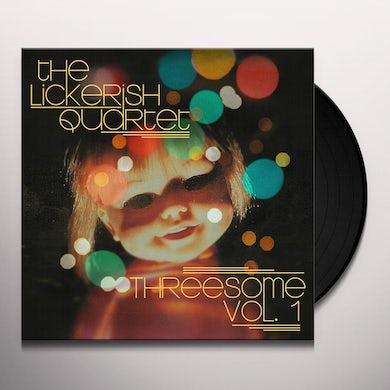 The Lickerish Quartet Threesome Vol. 1 (LP) (Random) Vinyl Record