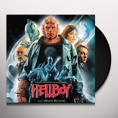 Marco Beltrami HELLBOY / Original Soundtrack Vinyl Record