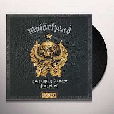 Motorhead EVERYTHING LOUDER FOREVER - THE VERY BEST OF Vinyl Record