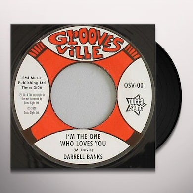 Darrell Banks I'M THE ONE WHO LOVES YOU/I'M KNOCKING AT YOUR DOO Vinyl Record