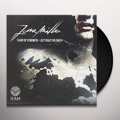 June Miller CHAIN OF STRENGTH/LAST NIGHT ON EARTH Vinyl Record