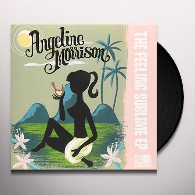 Angeline Morrison FEELING SUBLIME EP Vinyl Record - UK Release