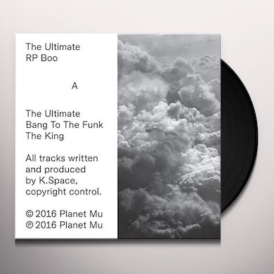 Rp Boo ULTIMATE Vinyl Record