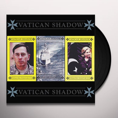 Vatican Shadow WASHINGTON BURIES AL QAEDA LEADER AT SEA Vinyl Record