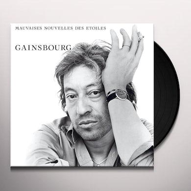Serge Gainsbourg MAUVAISES NOUVELLES DES ETOILES Vinyl Record