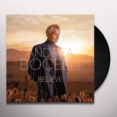 Andrea Bocelli Believe (2 LP) Vinyl Record