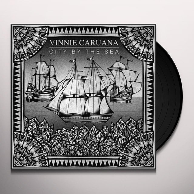 Vinnie Caruana CITY BY THE SEA Vinyl Record