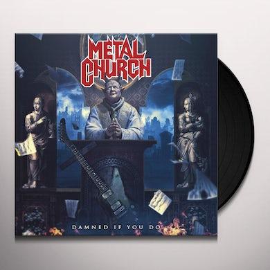 Metal Church DAMNED IF YOU DO Vinyl Record