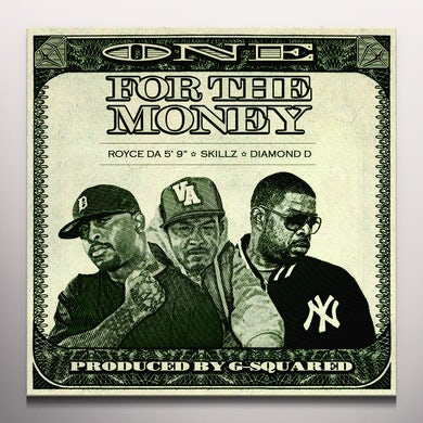 "Royce Da 5'9"" ONE FOR THE MONEY Vinyl Record"