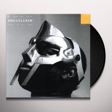 Madvillain ALL CAPS Vinyl Record