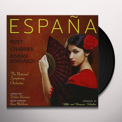 Debbie Wiseman / Rosie Middleton & National Sym. ESPANA - TRIBUTE TO SPAIN Vinyl Record