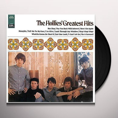 The Hollies GREATEST HITS Vinyl Record