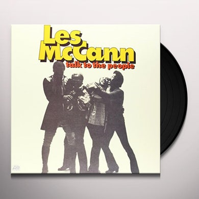 Les Mccann TALK TO THE PEOPLE Vinyl Record