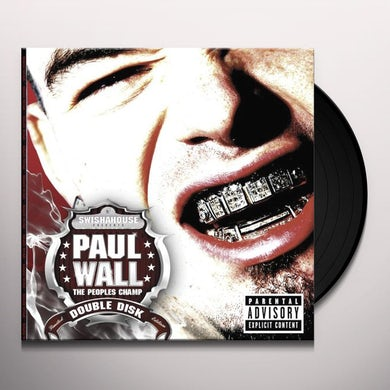 Paul Wall Peoples Champ Vinyl Record