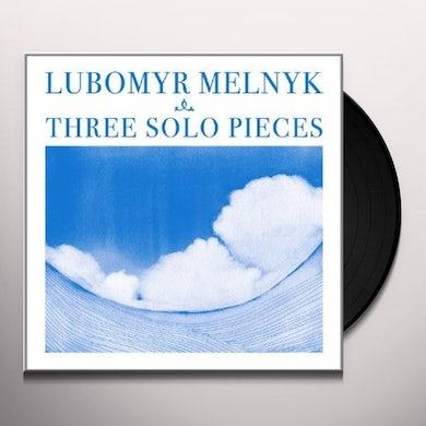THREE SOLO PIECES Vinyl Record