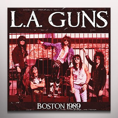 LA Guns BOSTON 1989 Vinyl Record