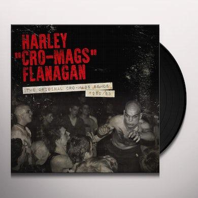Harley Flanagan ORIGINAL CRO-MAGS DEMOS 1982-1983 Vinyl Record
