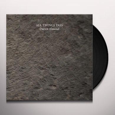 Darren Almond ALL THINGS PASS Vinyl Record