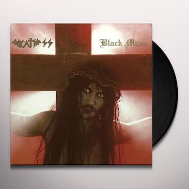 Death Ss BLACK MASS Vinyl Record
