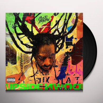 Buju Banton Upside Down 2020 (2 LP) (Red/Orange/Black Splatter) Vinyl Record