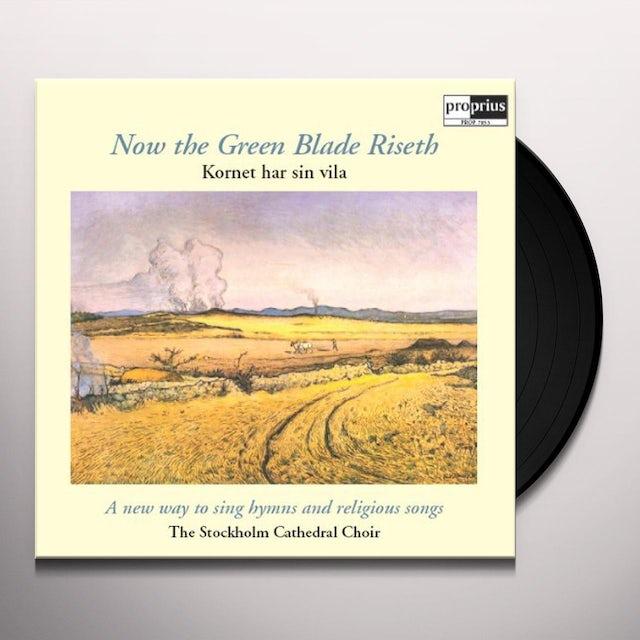 Stockholm Cathedral Choir / Sjok NOW THE GREEN BLADE RISETH Vinyl Record