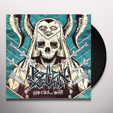 Rotten Sound SPECIES AT WAR (PIC DISC) Vinyl Record