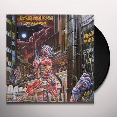 Iron Maiden SOMEWHERE IN TIME Vinyl Record