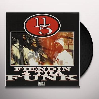 FIENDIN 4 THA FUNK (TRANSLUCENT RED VINYL) Vinyl Record