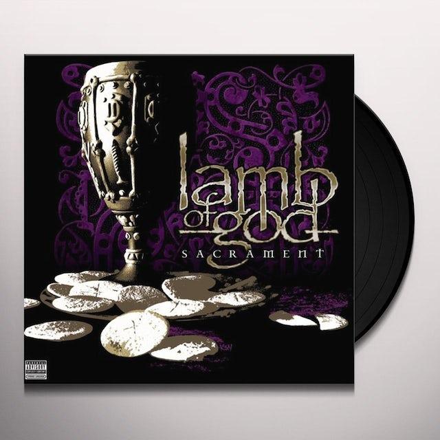 Lamb Of God SACRAMENT Vinyl Record