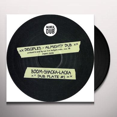 Disciples ALMIGHTY DUB / ZION ROCK DUB Vinyl Record