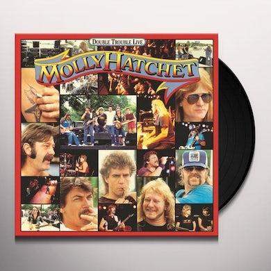 Molly Hatchet DOUBLE TROUBLE Vinyl Record