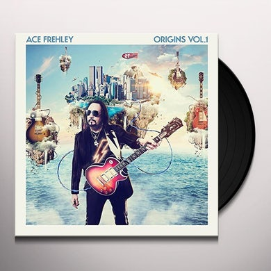Ace Frehley ORIGINS VOL 1 Vinyl Record - w/CD, UK Release