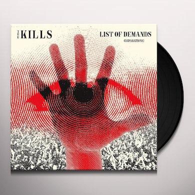 The Kills LIST OF DEMANDS Vinyl Record