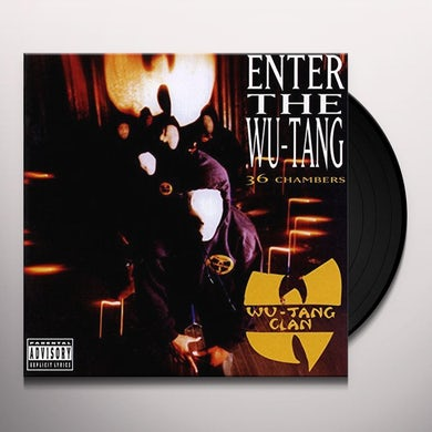 ENTER THE WU-TANG CLAN (36 CHAMBERS) Vinyl Record