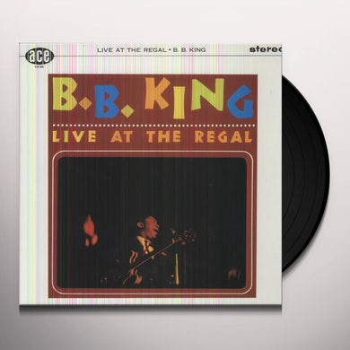 B.B. King LIVE AT THE REGAL Vinyl Record