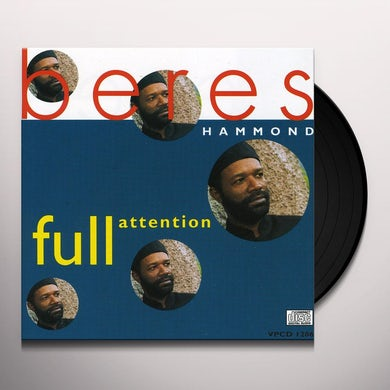 Beres Hammond FULL ATTENTION Vinyl Record